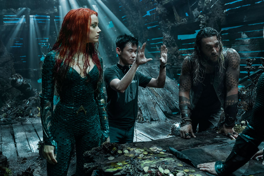 James Wan Thanks the Aquaman Cast, Crew and Fans