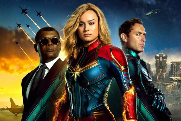 Captain Marvel Passes $1 Billion Worldwide