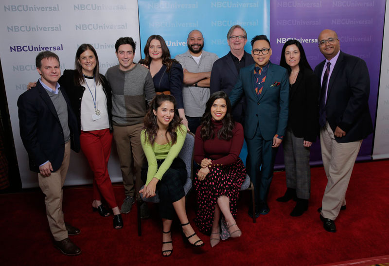 Superstore Winter Press Tour Panel