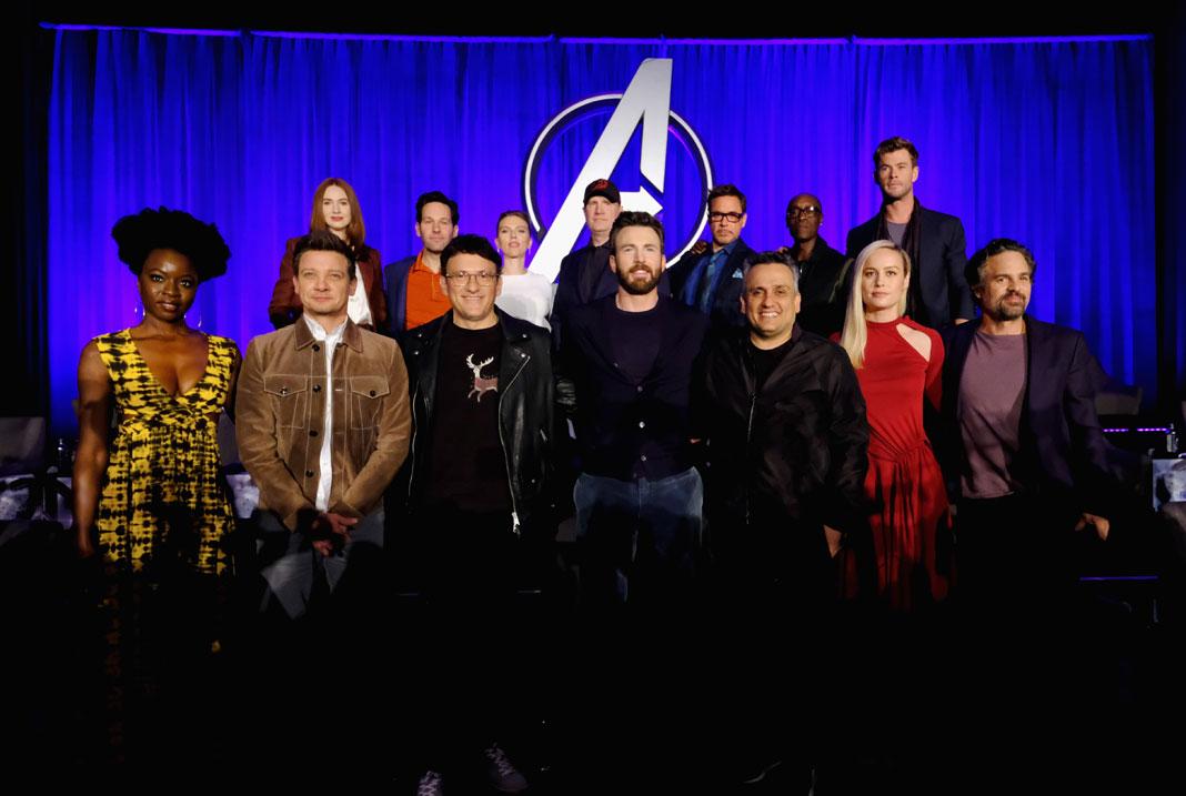 Avengers: Endgame Press Conference Left Seats Open for the Fallen