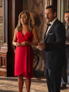 Jennifer Aniston, Adam Sandler on Their Netflix Film Murder Mystery