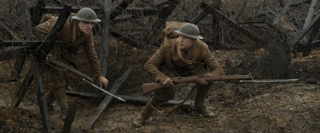 Casting the Two Main 1917 Soldiers in Sam Mendes' World War I Epic