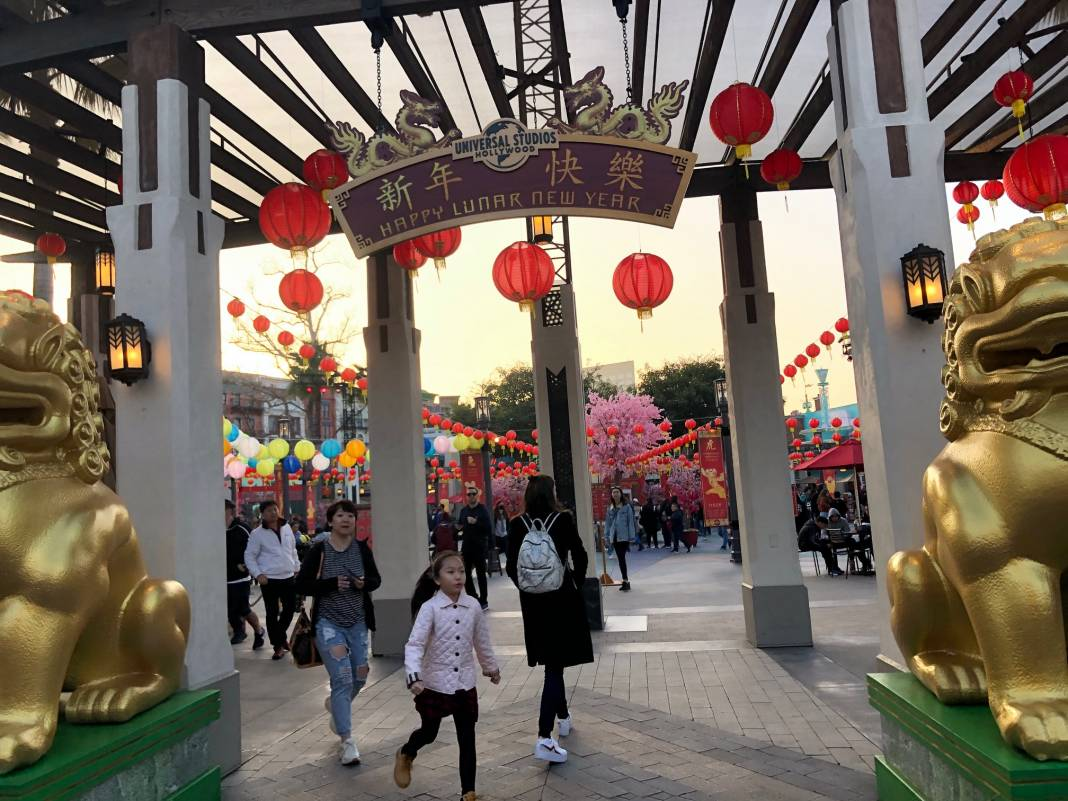 Universal Studios Hollywood Lunar New Year