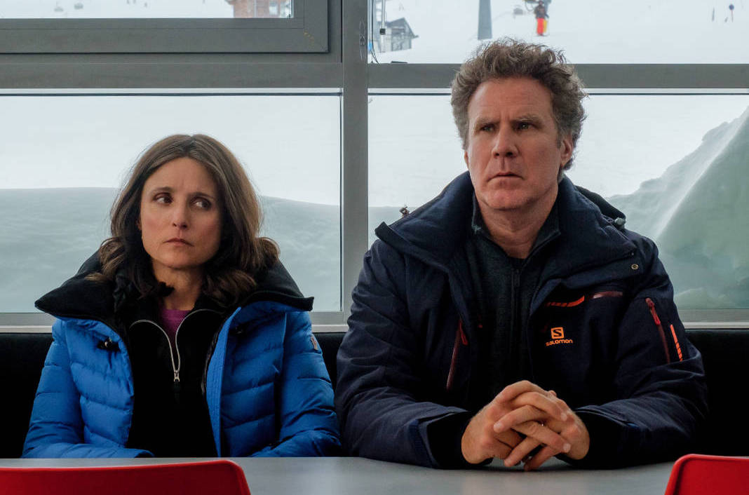 Downhill Review: The Force Majeure Remake with Ferrell and Louis-Dreyfus