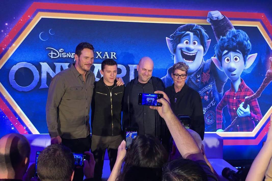 Chris Pratt and Tom Holland on Voicing Pixar's Onward