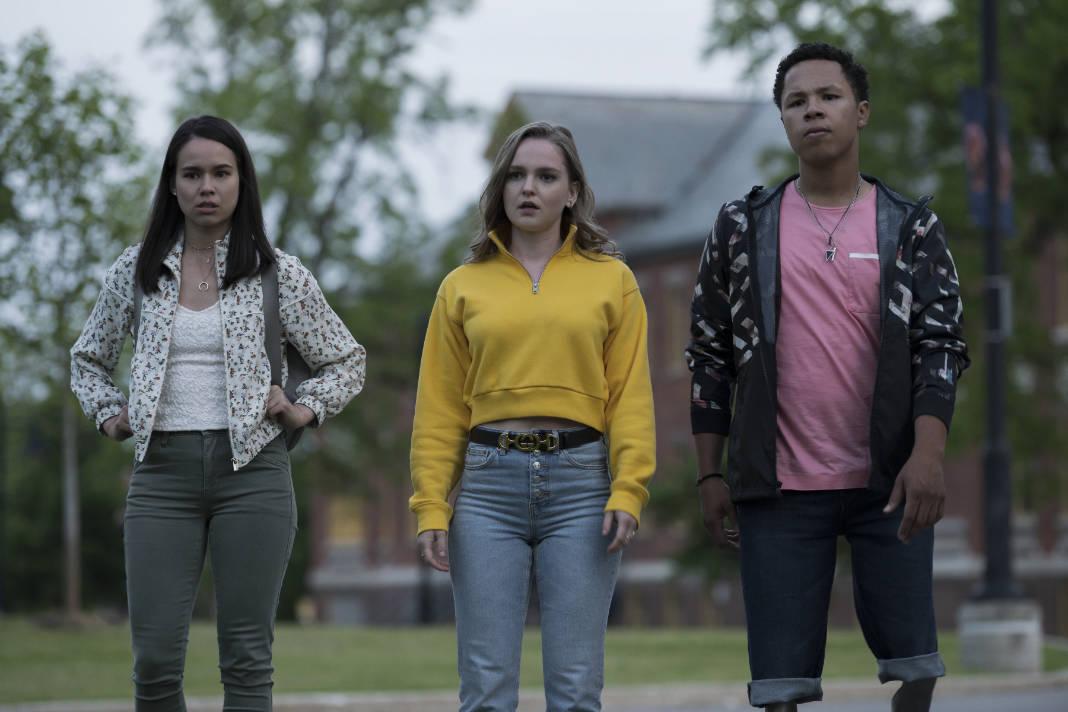 Hallea Jones in Netflix series Locke & Key