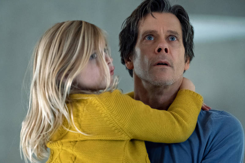 Ella Conroy (Avery Essex) and Theo Conroy (Kevin Bacon) in You Should Have Left, written and directed by David Koepp.