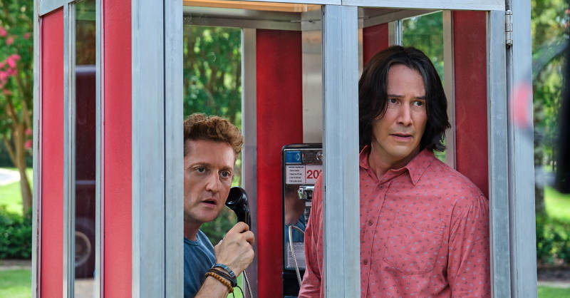 Alex Winter and Keanu Reeves on Bill & Ted Face the Music