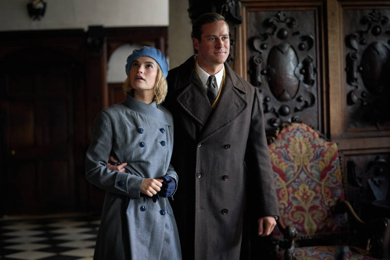 Lily James, Armie Hammer and Ben Wheatley Talk About Rebecca