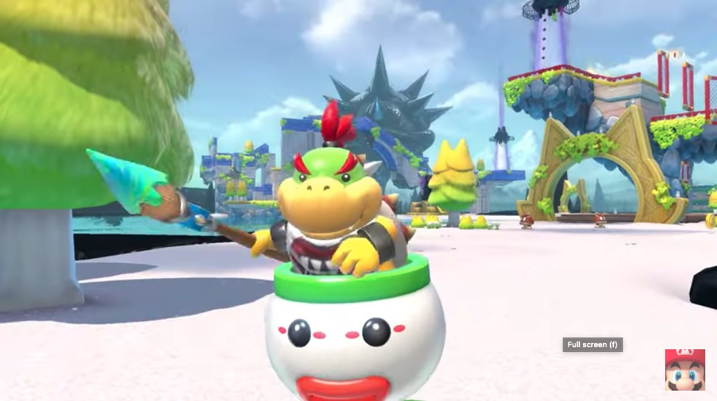 Bowser's Fury Footage, First Look at Mario Red & Blue Edition Switch