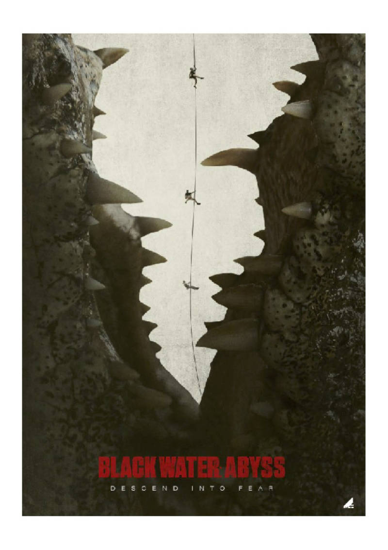 The Crocodiles Are Coming in Black Water: Abyss from Crackle Plus