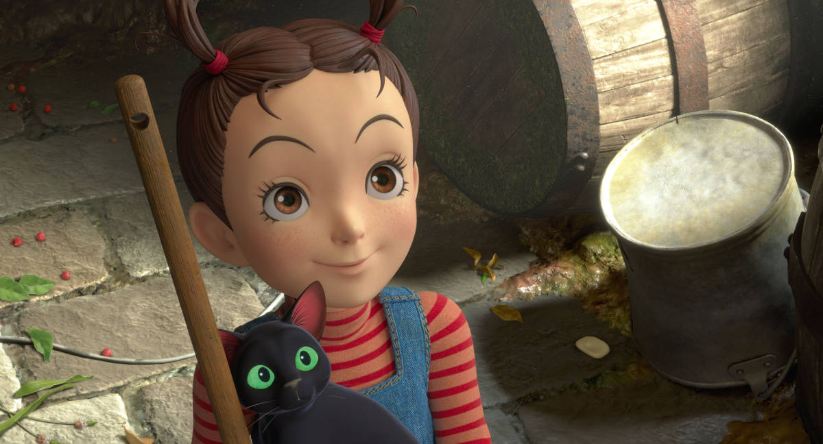 Earwig and the Witch Coming to Theaters and HBO Max