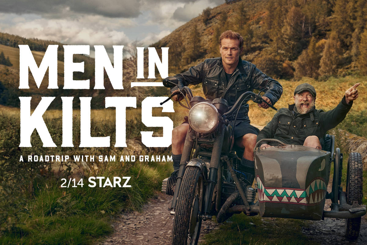 New Men in Kilts: A Roadtrip with Sam and Graham Trailer and Key Art!