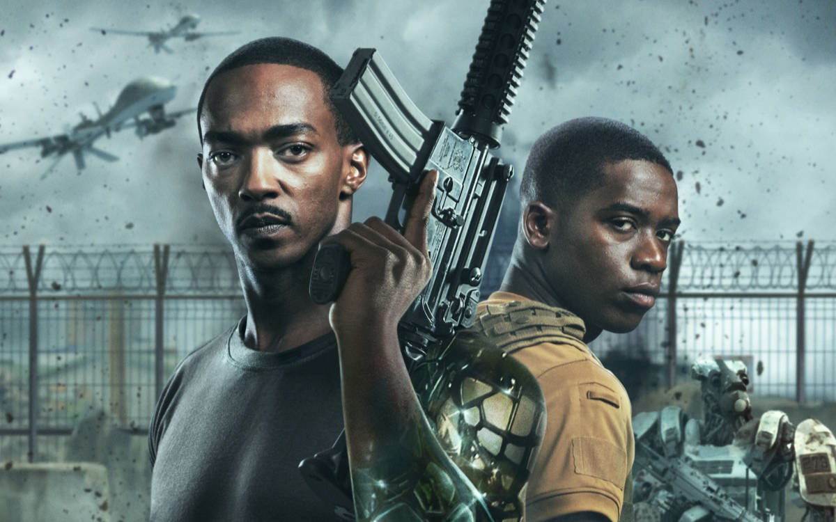 Netflix Releases New Outside the Wire Trailer and Key Art
