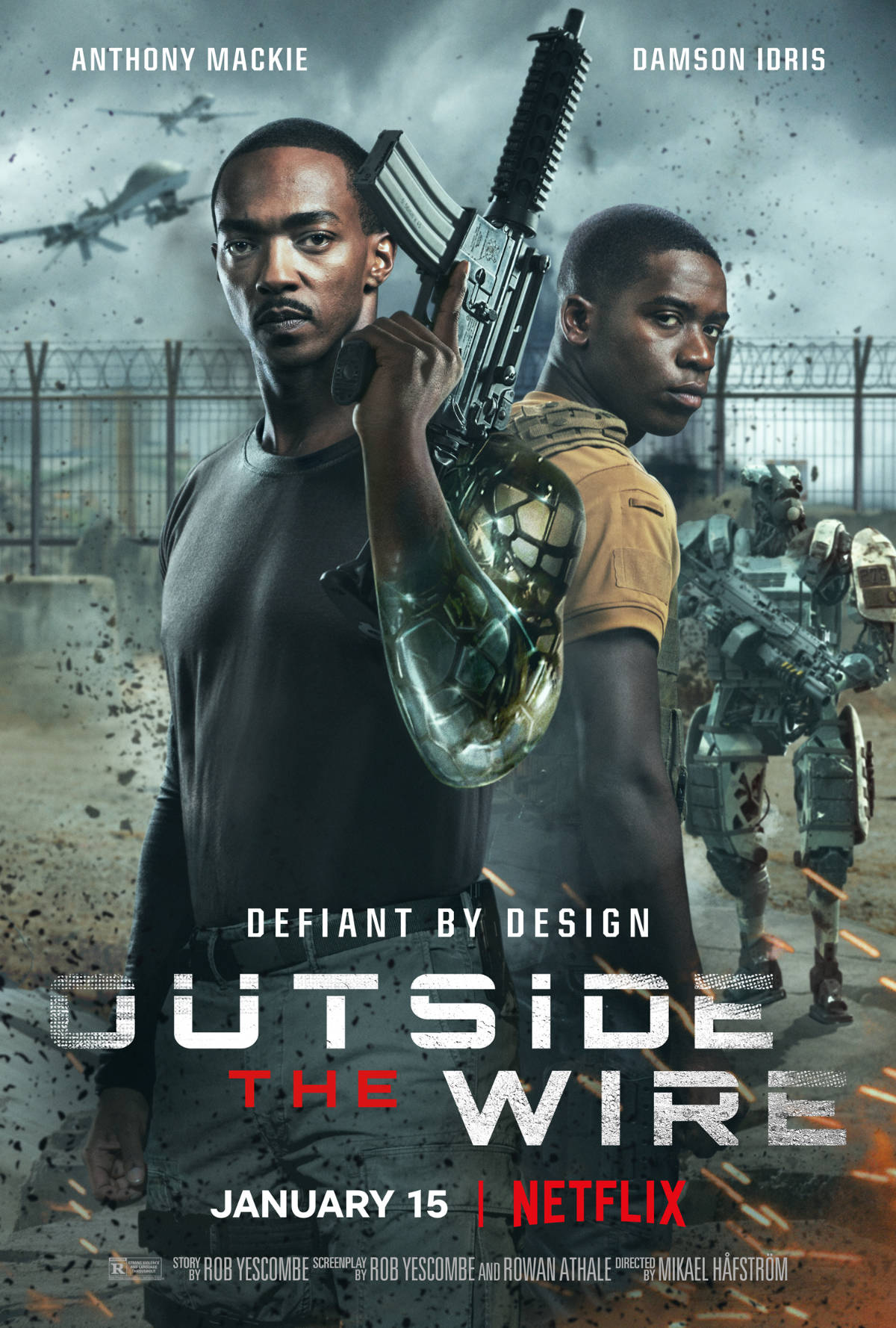 Outside the Wire Trailer and Key Art Released by Netflix ...