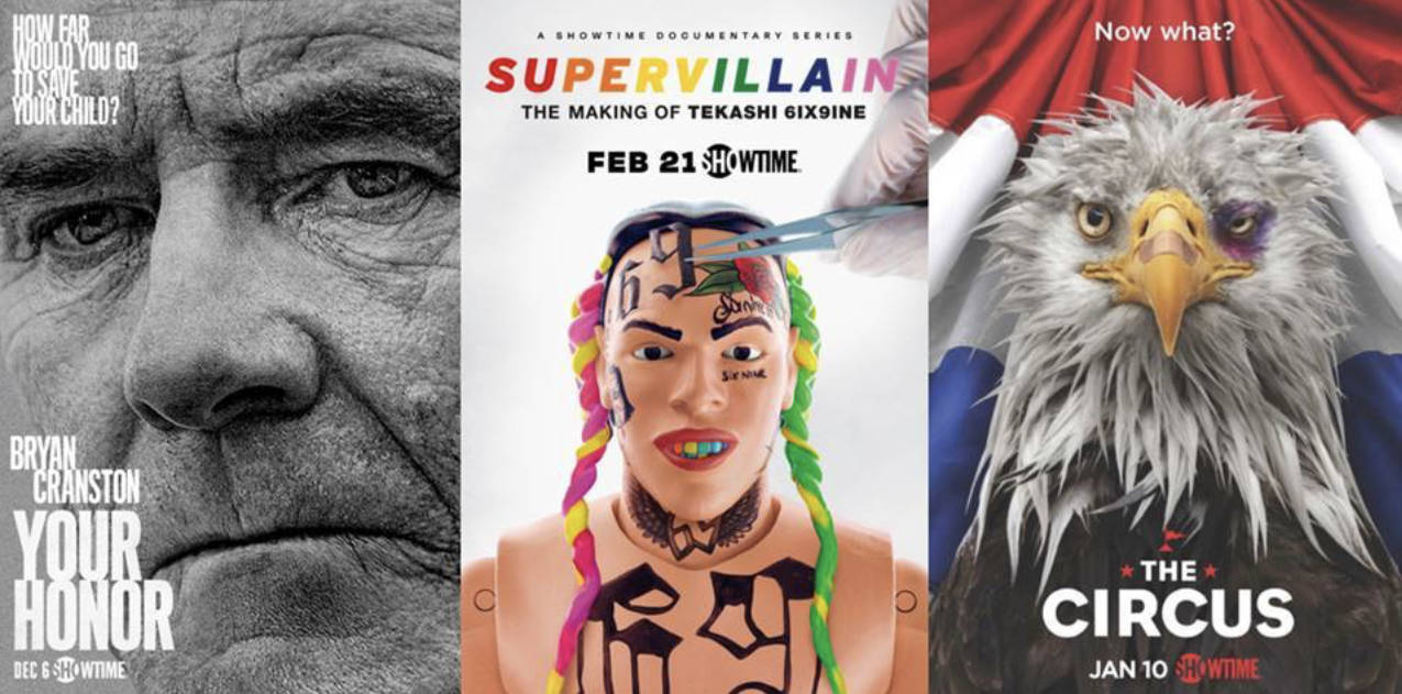 Showtime February 2021 Movies and TV Titles Announced