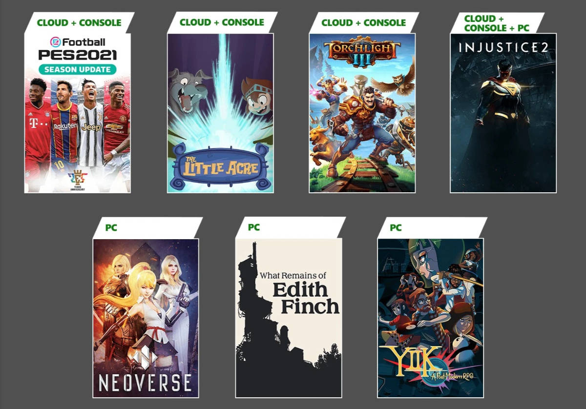 Xbox Game Pass January 2021 Titles Announced