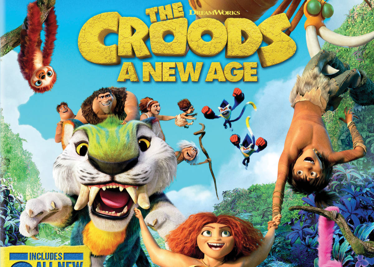Croods and Monster Hunter Digital and Blu-ray Releases Set
