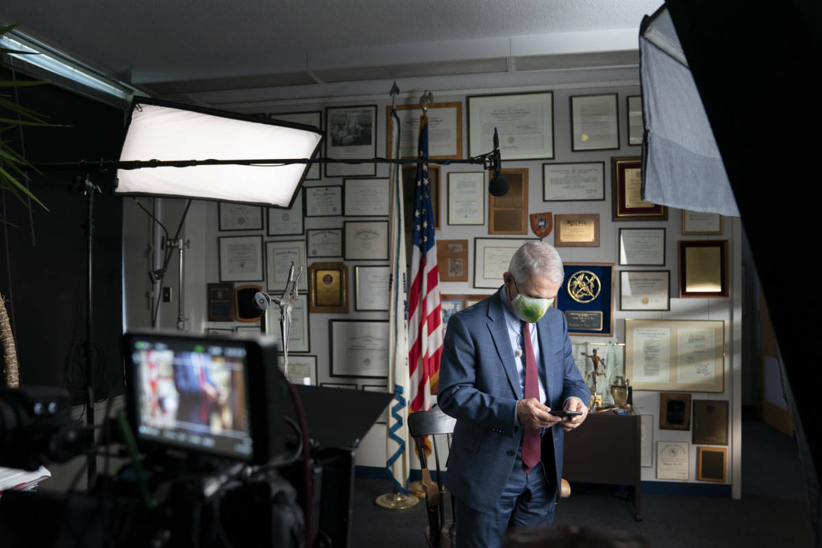 Fauci Documentary Announced by National Geographic