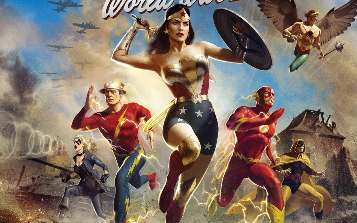 Justice Society: World War II Trailer and Release Details