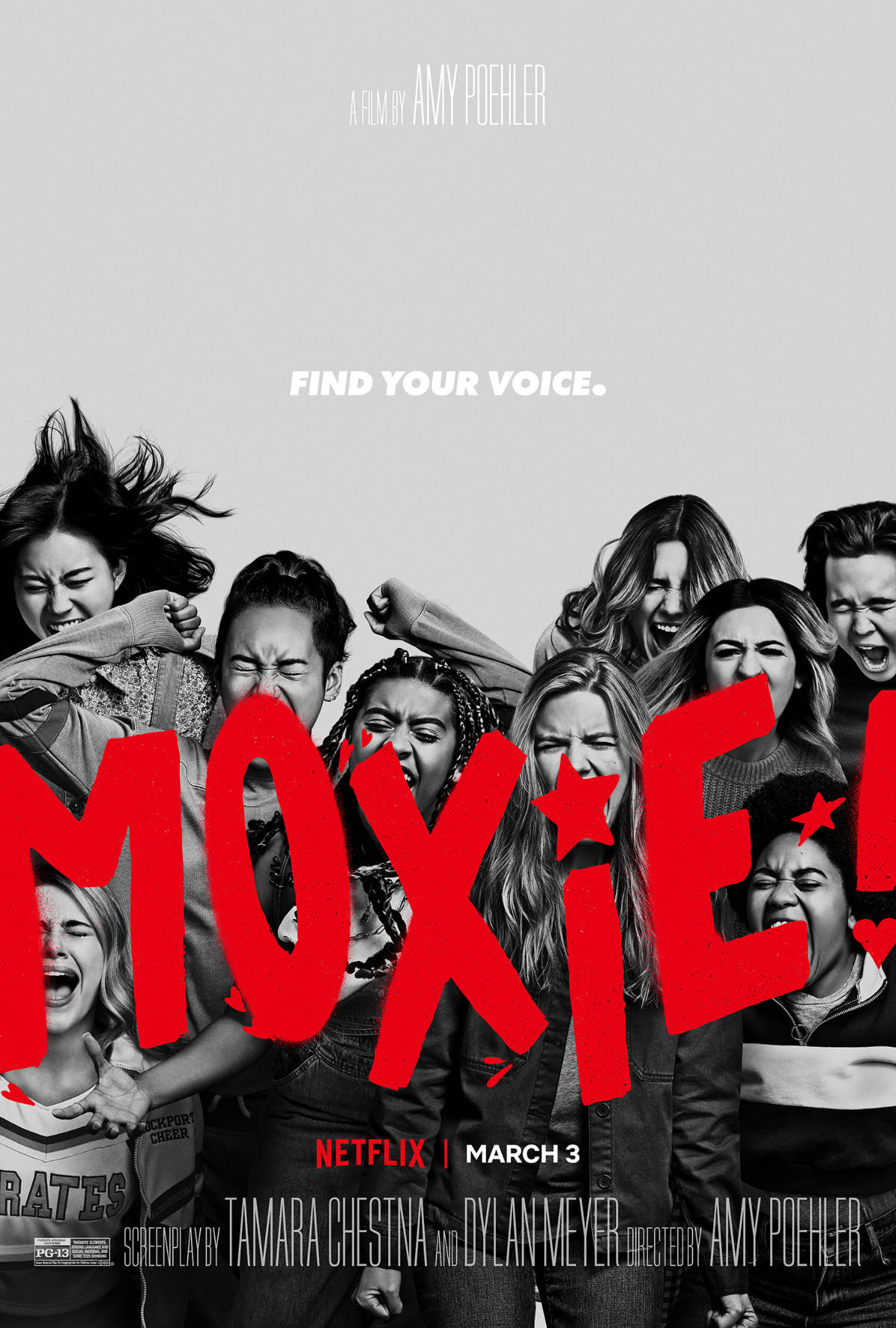 Netflix Releases New Moxie Trailer from Amy Poehler
