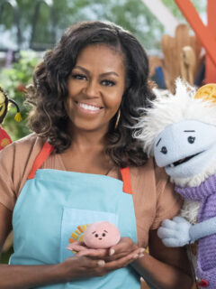 Michelle Obama Announces Netflix's Waffles + Mochi