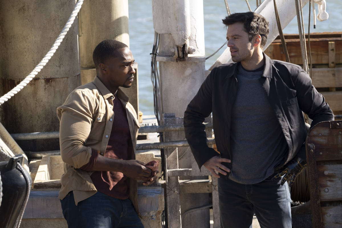 Go Behind the Scenes of Falcon and The Winter Soldier