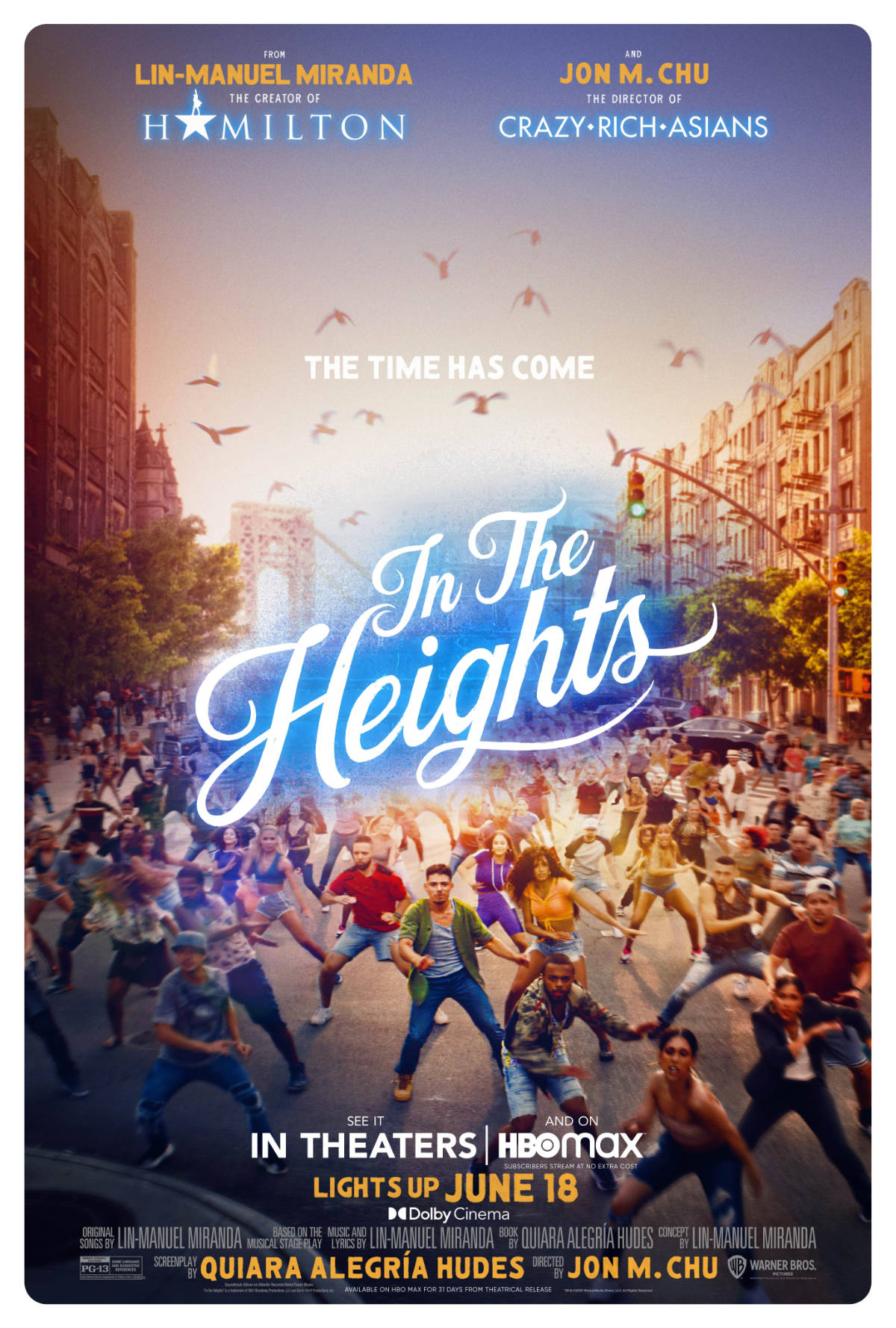 The Time Has Come for In the Heights Posters - VitalThrills.com