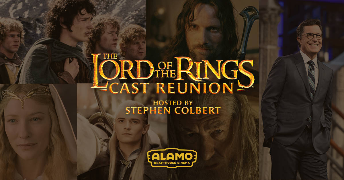 The Lord of the Rings Cast Reunion Announced by Alamo Drafthouse