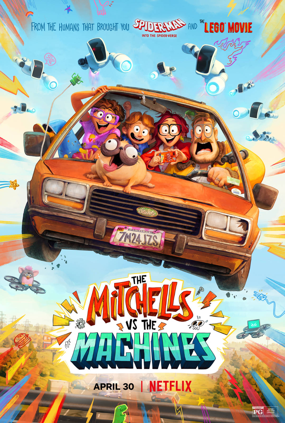 Watch the New The Mitchells vs. The Machines Trailer