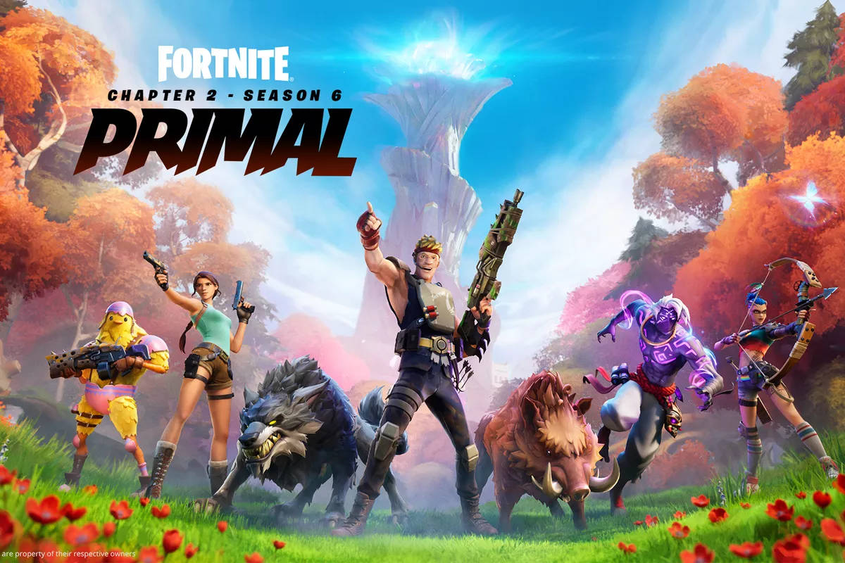 Fortnite Chapter 2 Season 6 Primal Launches