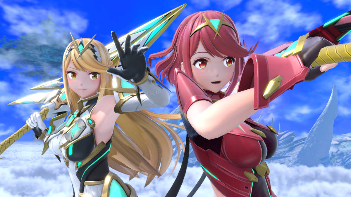 Learn More About Pyra / Mythra in Super Smash Bros. Ultimate