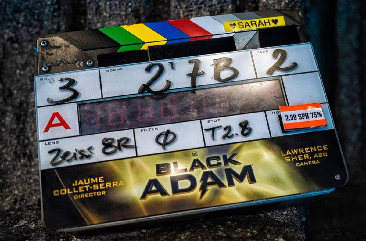 Black Adam Movie Starts Filming for a 2022 Release!