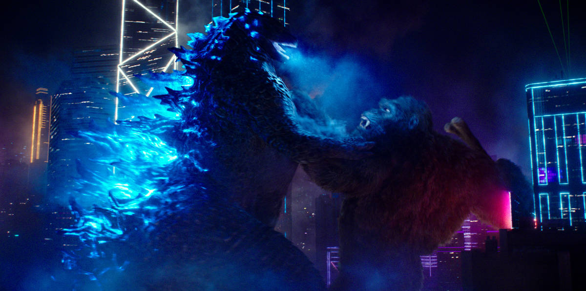 The Godzilla vs Kong movie was released on March 31, 2021