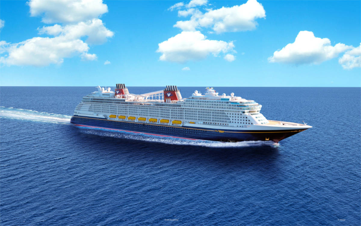 Disney Wish Cruise Ship Revealed