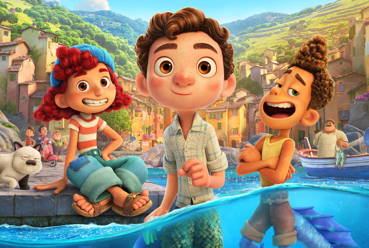 Pixar's Luca Preview: The New Trailer, Poster and a Talk with the Crew