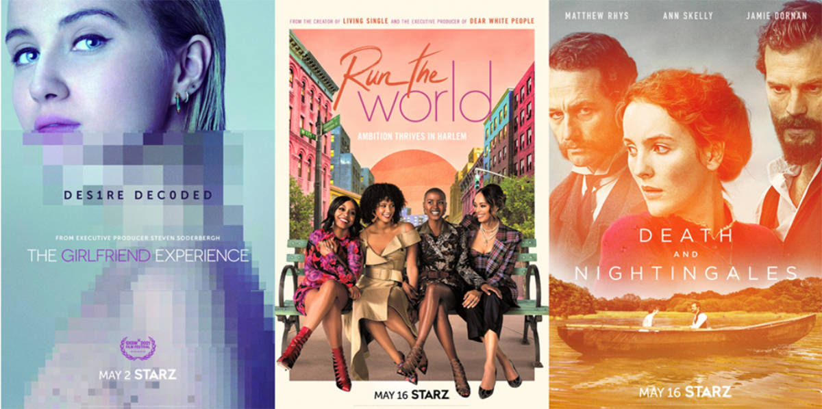 Starz May 2021 Movie and TV Titles Announced