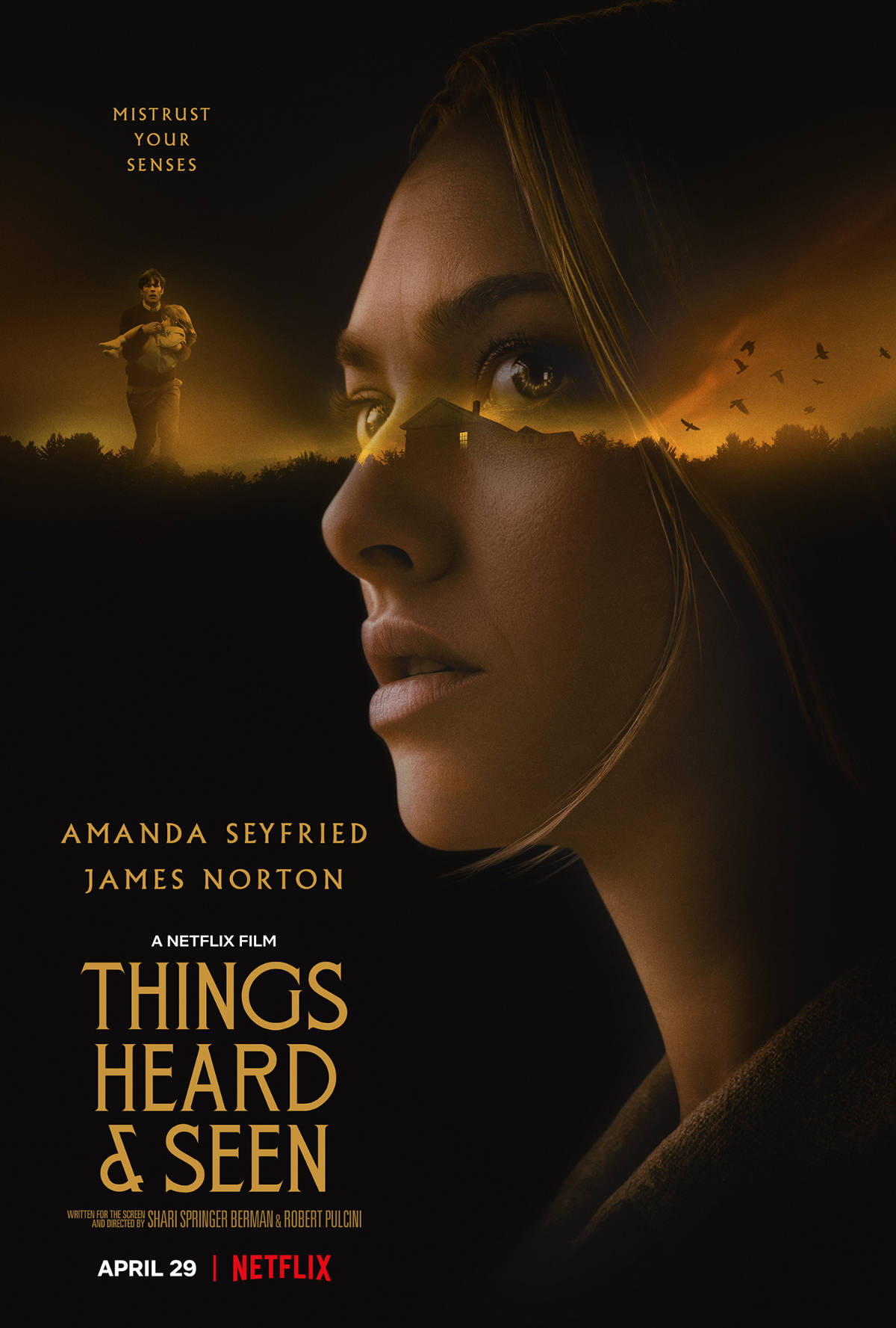 New Trailer and Key Art for Things Heard and Seen with Amanda Seyfried