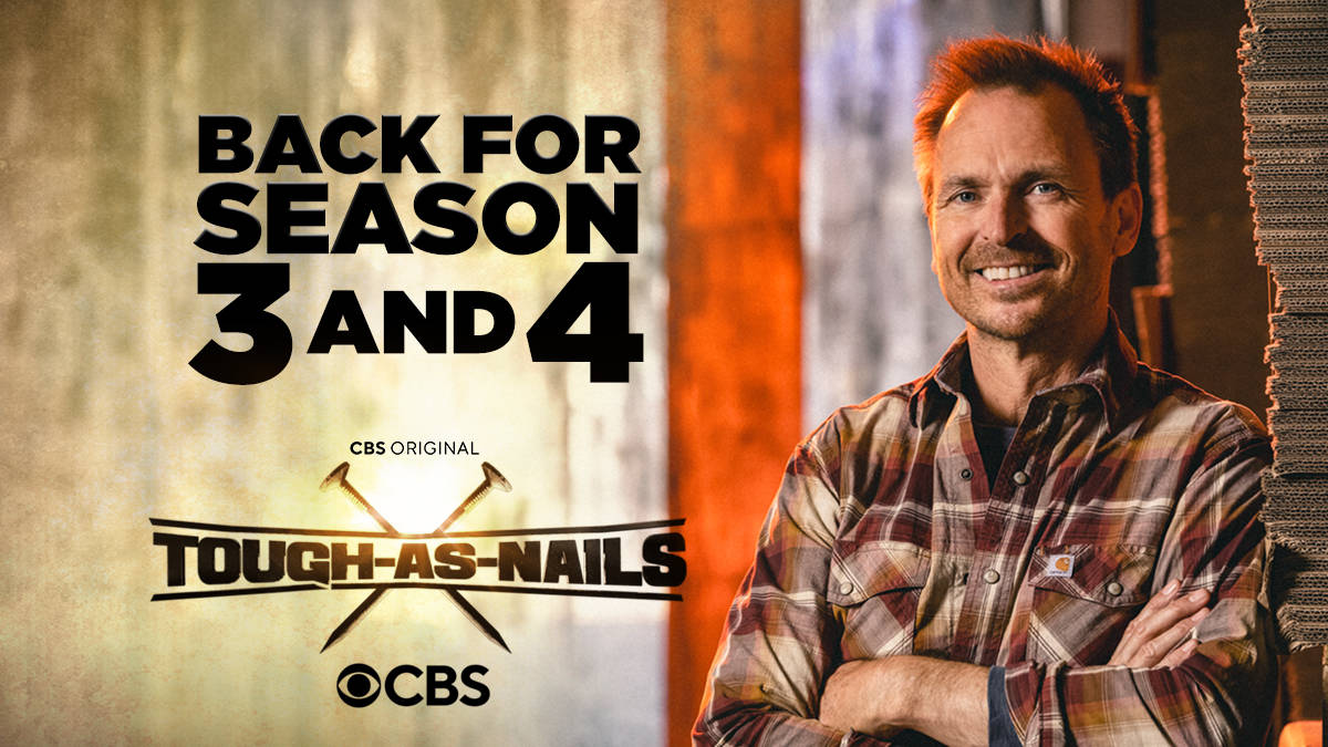 Tough as Nails Season 3 and 4 Ordered by CBS