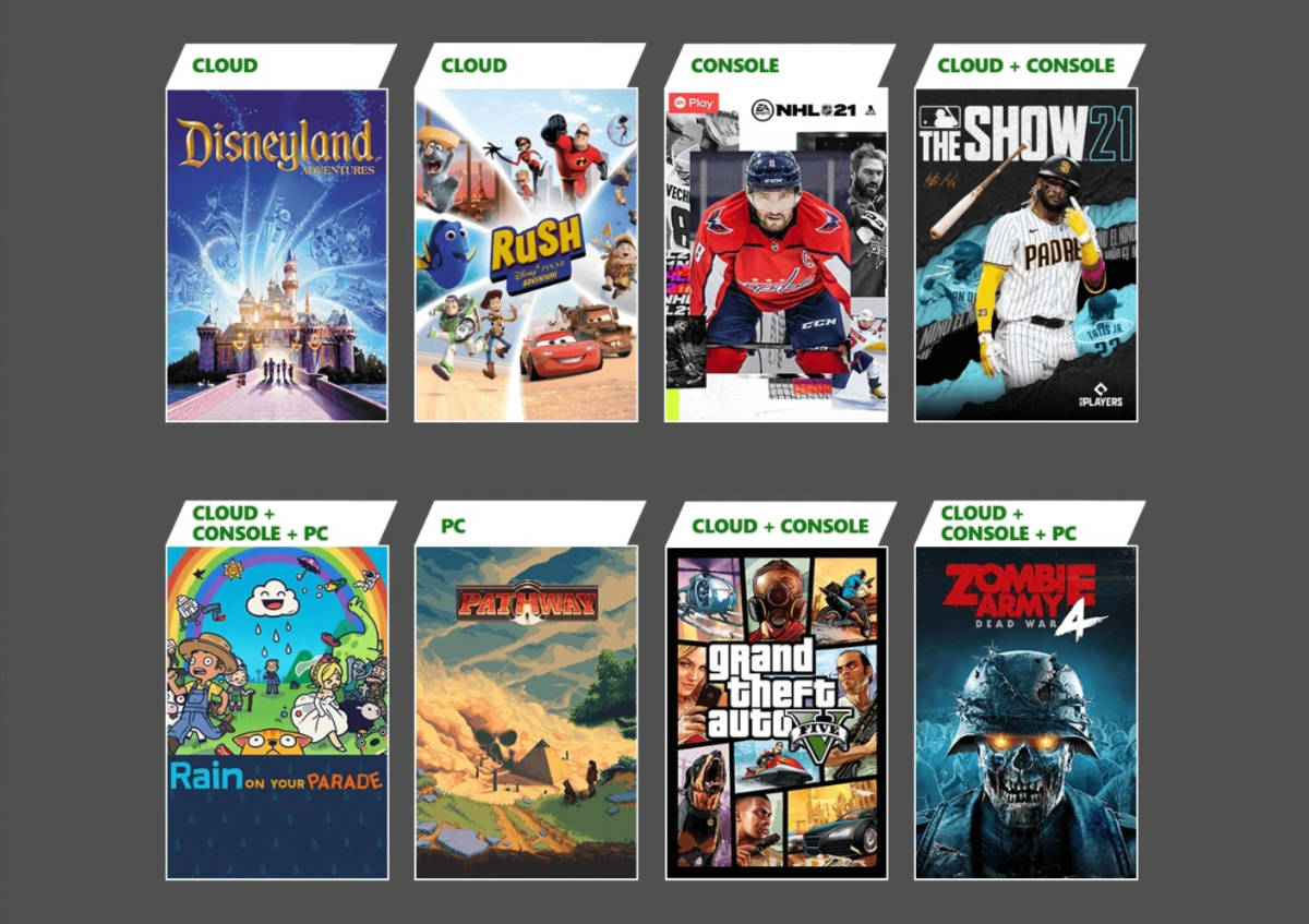 Xbox Game Pass April 2021 New Games