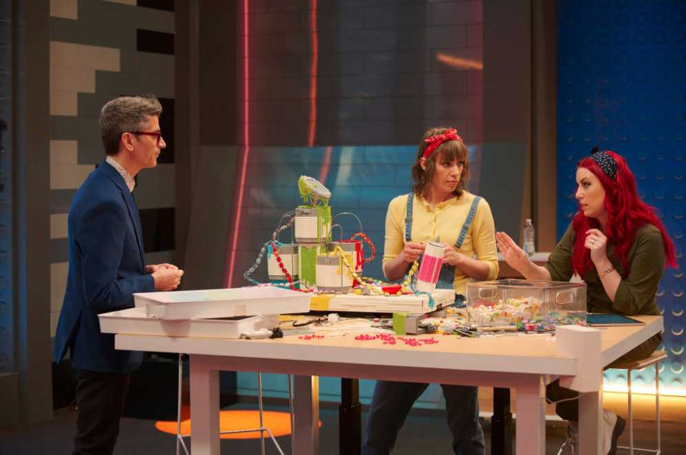 LEGO Masters Interview with Brickmasters Amy Corbett and Jamie Berard
