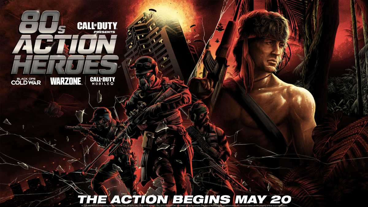 Call of Duty, Die Hard and Rambo Come Together in Crossover