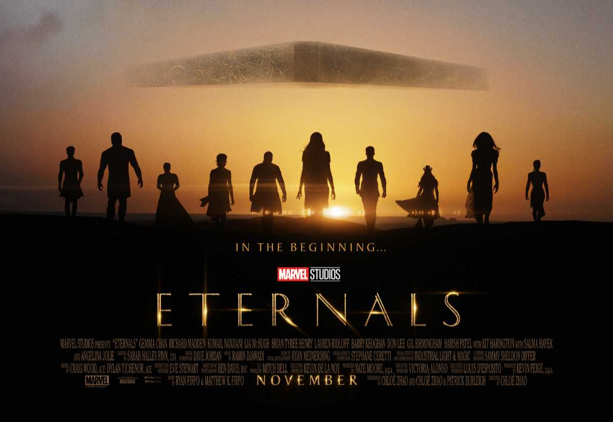 Eternals Teaser Trailer and Poster Released by Marvel Studios!