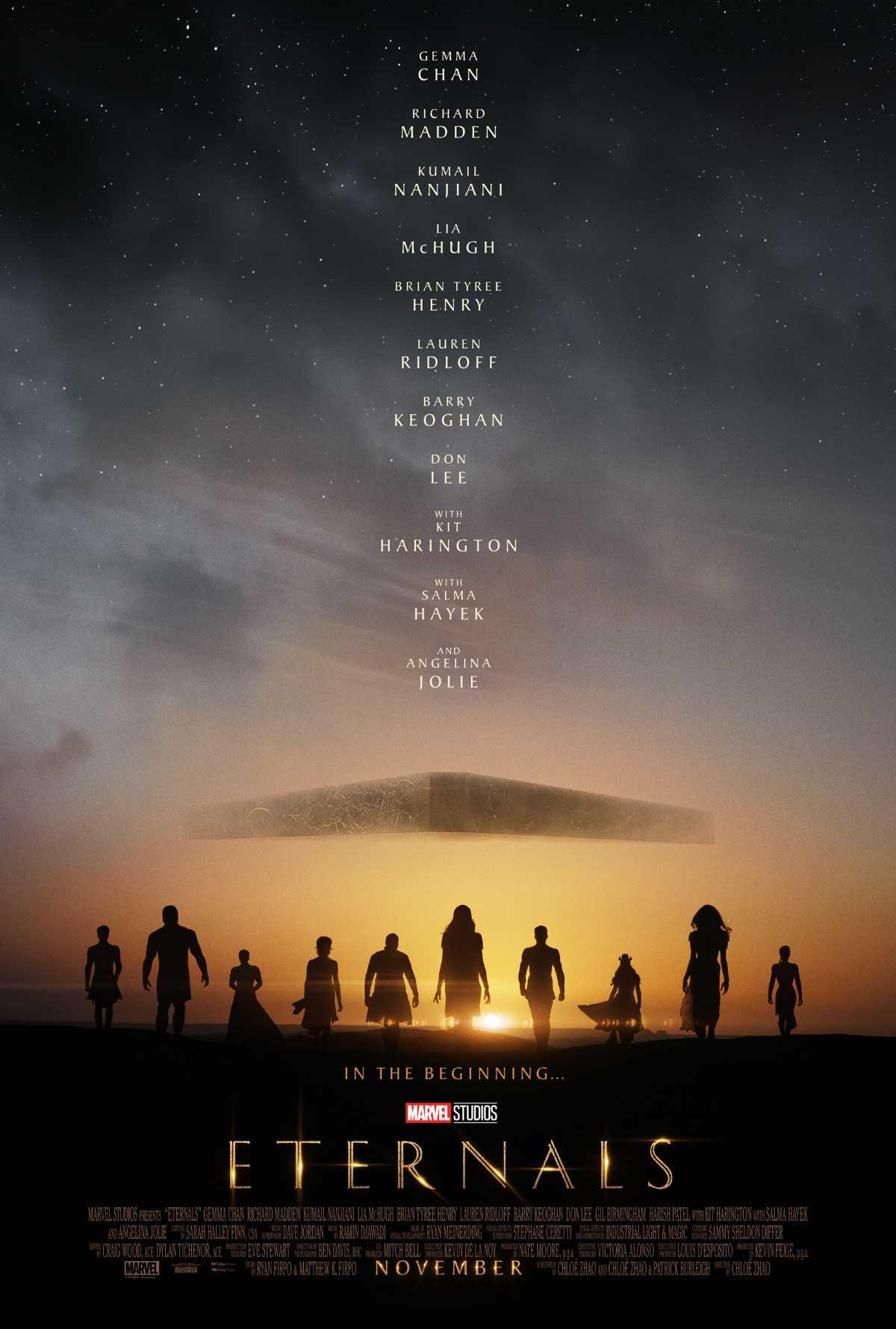 Eternals Teaser Trailer and Poster
