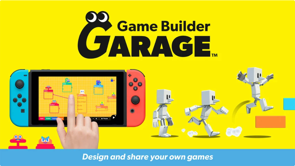 Game Builder Garage Announced for Nintendo Switch