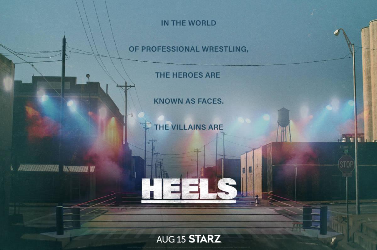 Heels Teaser Trailer and Key Art Revealed by Starz