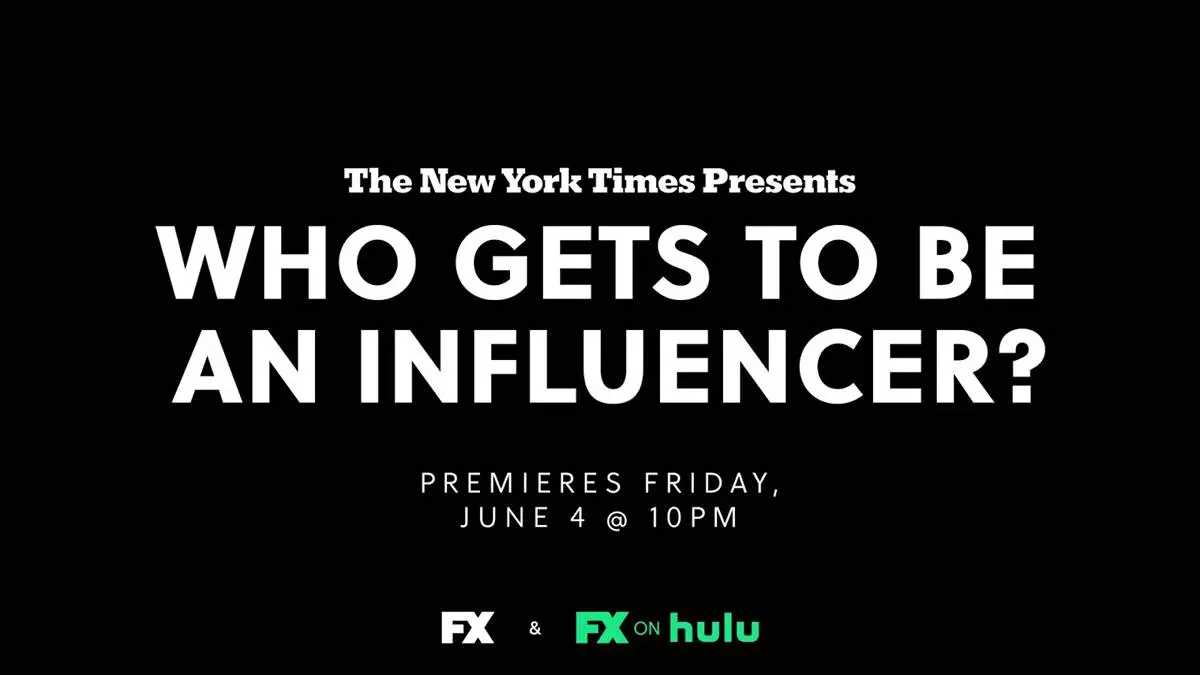 """The New York Times Presents: """"Who Gets To Be an Influencer?"""""""