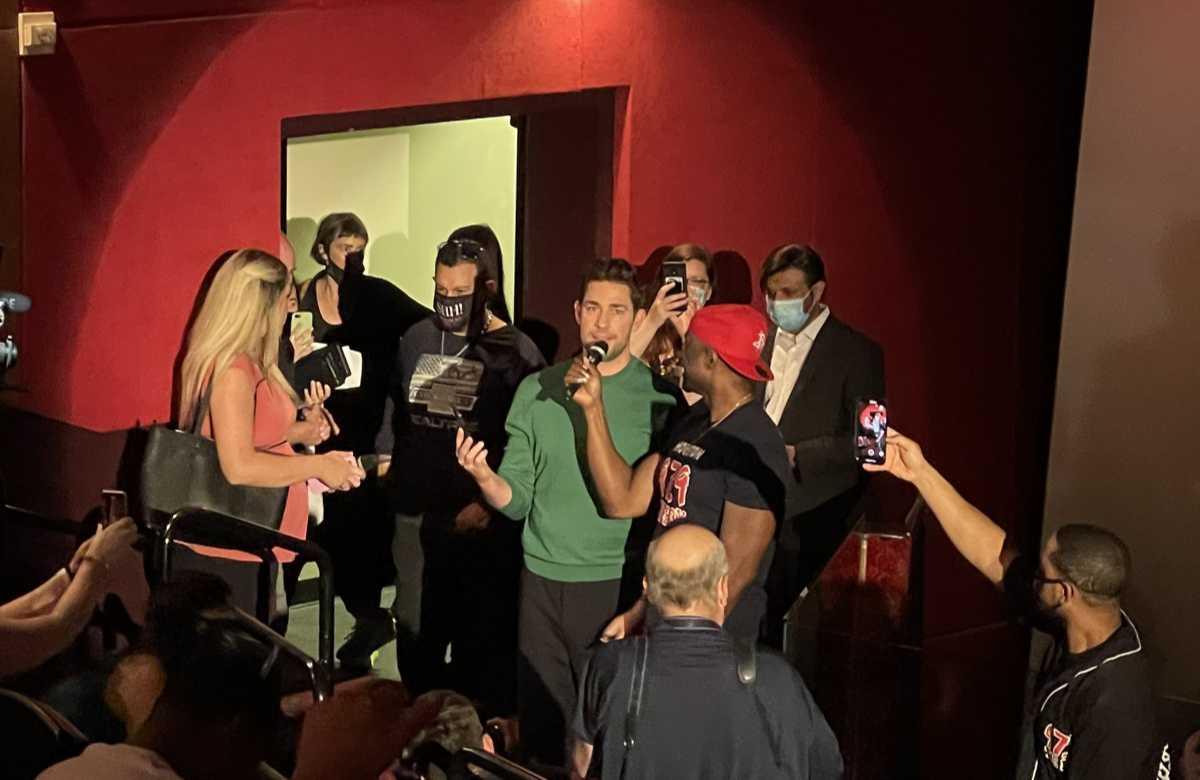 John Krasinski Introduces A Quiet Place Part II in Houston