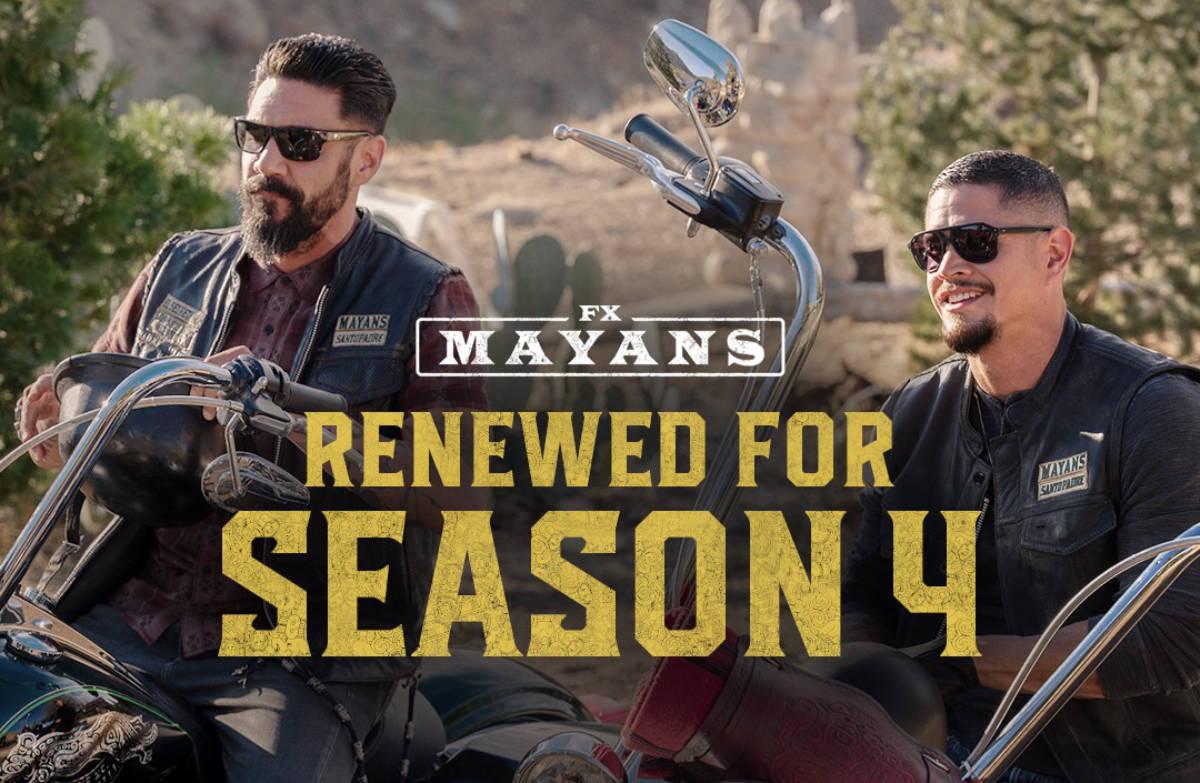 Mayans MC Renewed for a Fourth Season