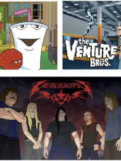 Aqua Teen Hunger Force, Metalocalypse & Venture Bros. Movies Coming!
